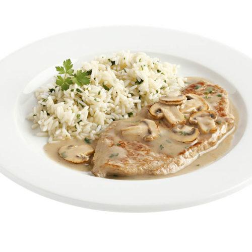 Champignonrahmschnitzel