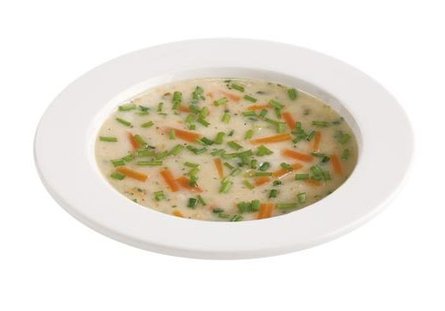 Legierte Grießsuppe